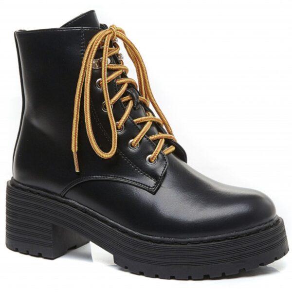Ideal shoes dame støvle 1952 - Black