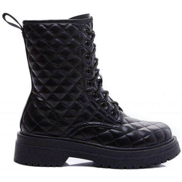 Ideal shoes dame støvle 7720 - Black