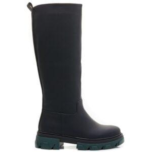 Ideal shoes dame støvle 7755A-1 - Black