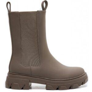 Ideal shoes dame støvle 7772A - Khaki