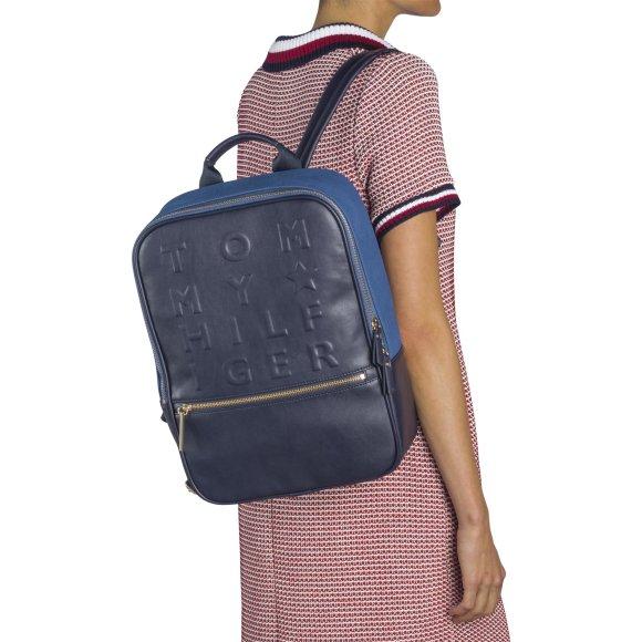 Logo story backpack