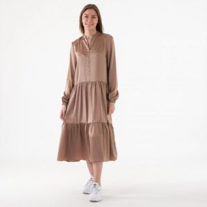 Purbea satin dress