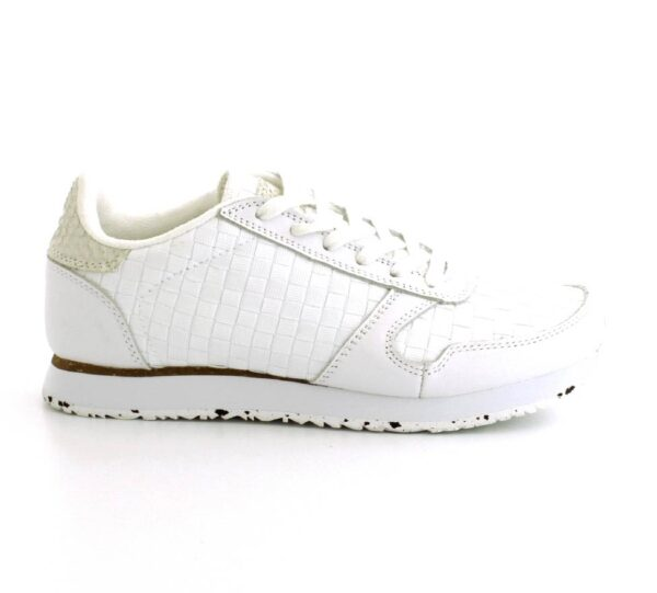 Woden Sneakers, (Hvid)